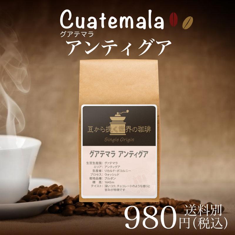 チモトコーヒー :グアテマラ アンティグア