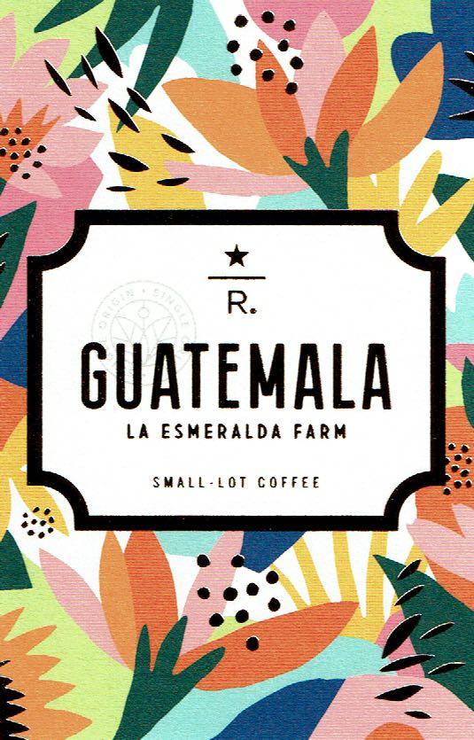 スターバックス リザーブ®:グアテマラ ラ エスメラルダ ファーム