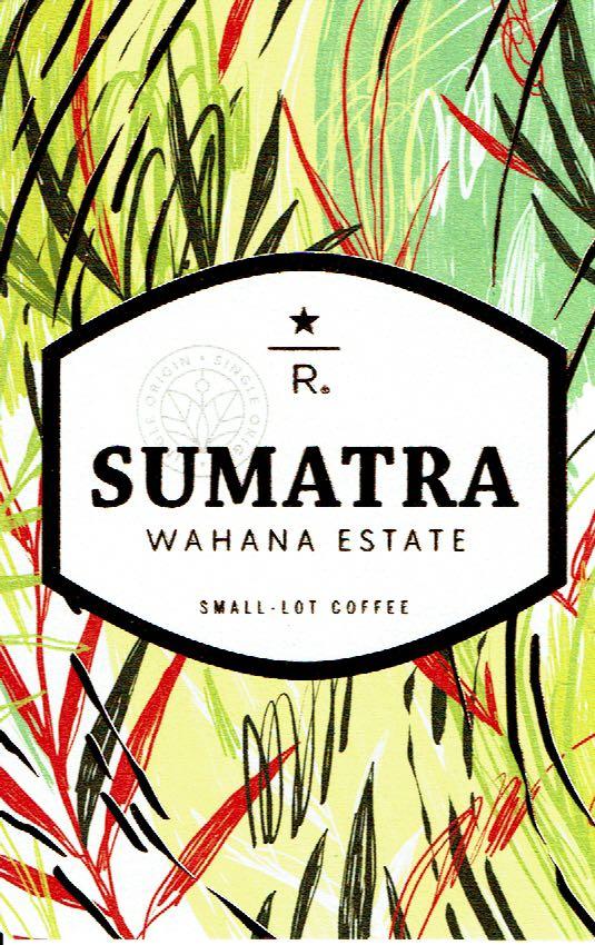 スターバックス リザーブ®:インドネシア スマトラ ワハナ エステート
