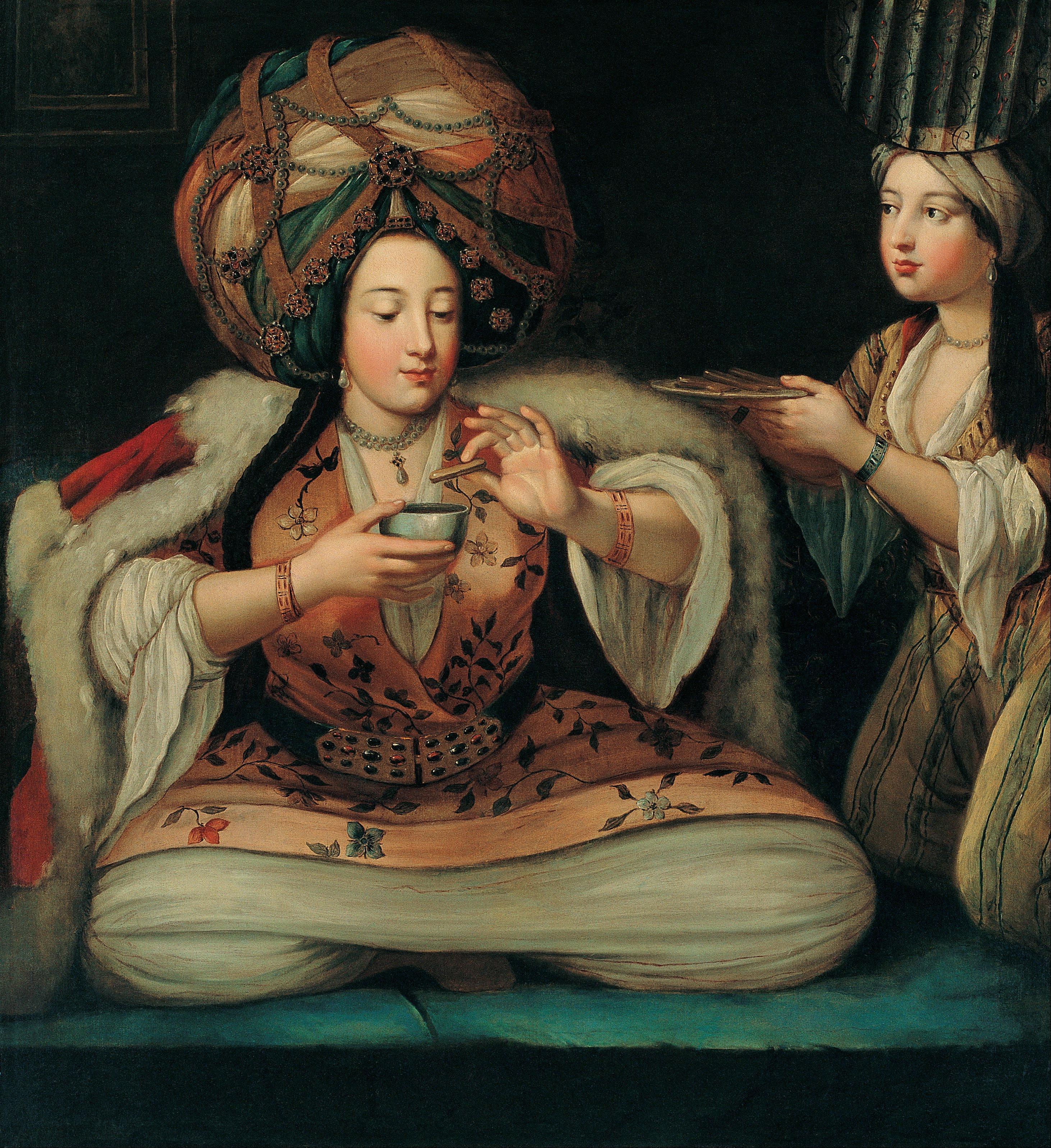 ペラ美術館所蔵の「コーヒーの楽しみ」:オスマン帝国時代のコーヒーシーン