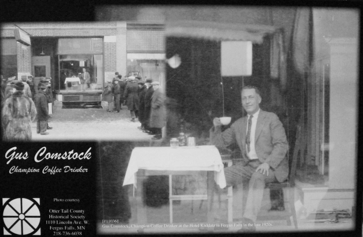 コーヒー飲用者の奇妙な物語:世界コーヒー飲用チャンピオンのガス・コムストック
