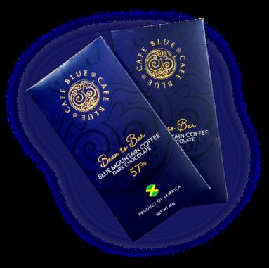 カフェ・ブルー:ジャマイカ ブルー・マウンテン・コーヒー・ダーク・チョコレート