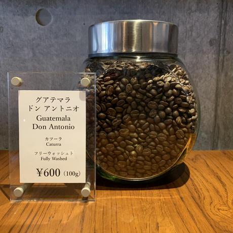 讃喫茶室 尾山台:グアテマラ ドン・アントニオ農園 カツーラ