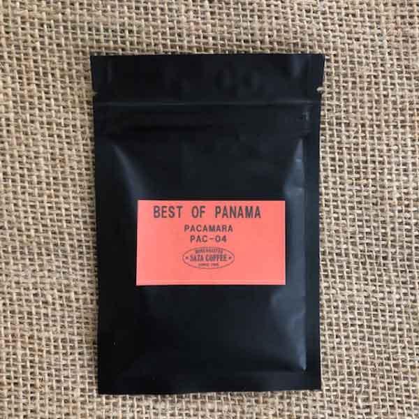 サザコーヒー:パナマ フィンカ・ミネルヴァ ミラージュ パカマラ E481 ベスト・オブ・パナマ 2020年 パカマラ部門 第4位