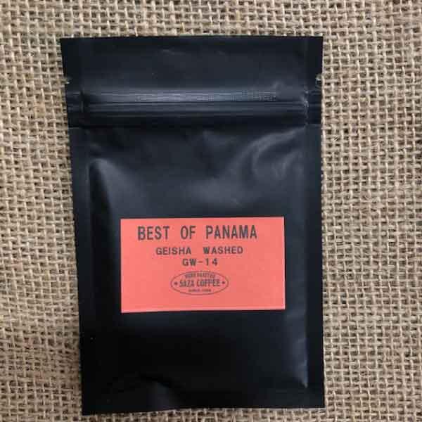 サザコーヒー:パナマ アシエンダ・バーバラ ラ・ワカ ゲイシャ ウォッシュト ベスト・オブ・パナマ 2020年 ゲイシャ ウォッシュト部門 第14位