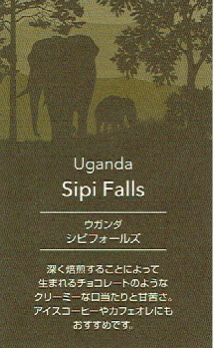 UCCカフェメルカード:ウガンダ シピ・フォールズ