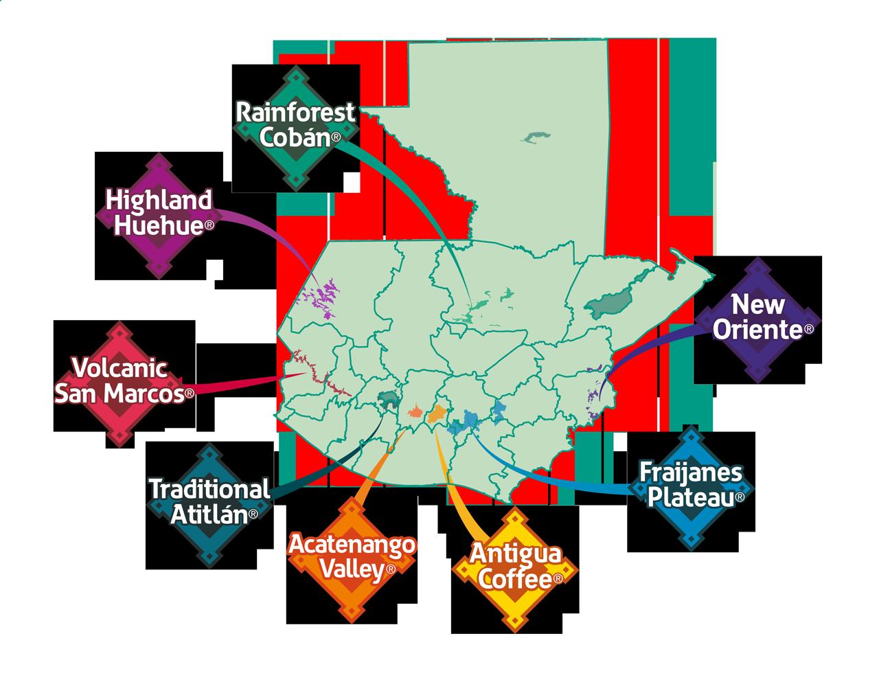 グアテマラの8つのコーヒー生産地域とそれぞれの特徴