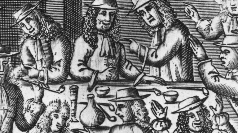 オリバー・クロムウェルのピューリタン道徳とロンドンでのコーヒー・ハウスの大流行