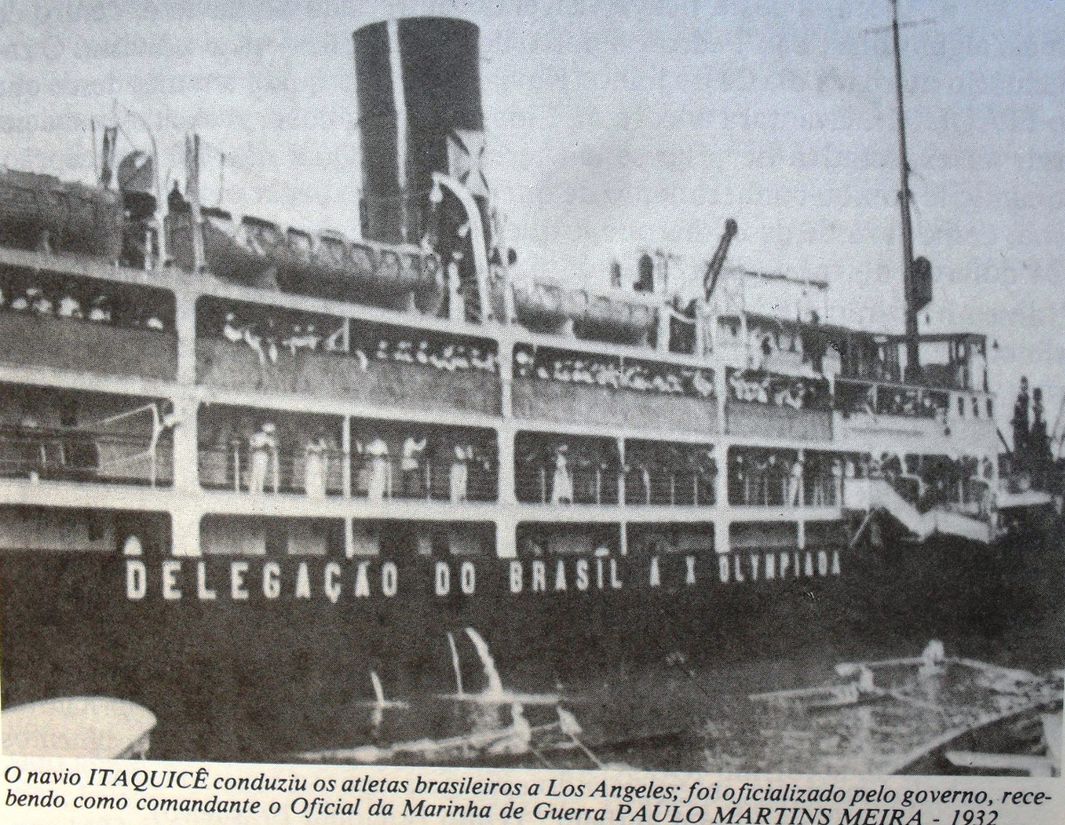 1932年ロサンゼルスオリンピックのブラジル選手団と1929年の世界大恐慌後のブラジルのコーヒー危機